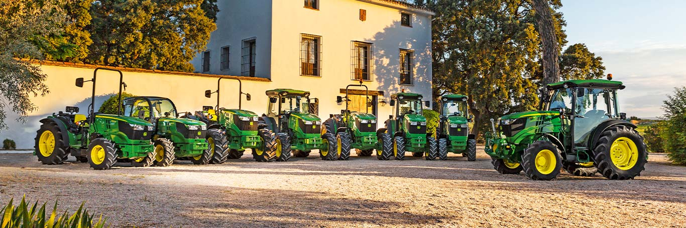 5G Series Tractors for High-value Crops